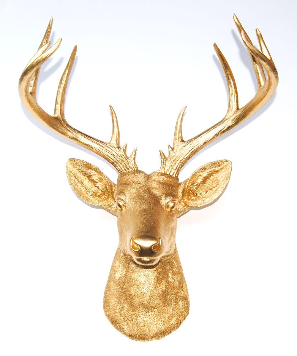 Near and Deer Moose Head Faux Taxidermy Wall Décor | AllModern ...