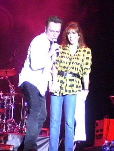 David On Stage With Wife Sue 2011 Busch Gardens I Was
