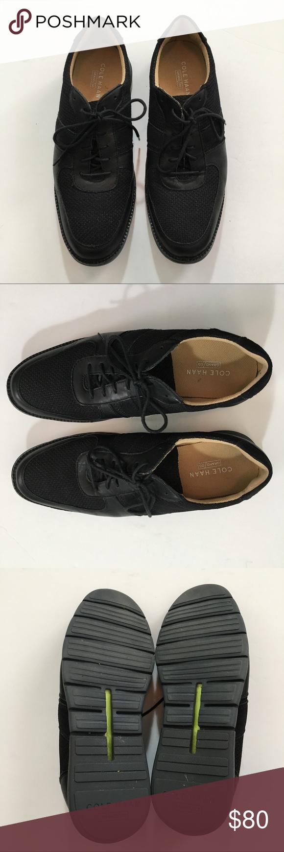 EUC Black Cole Haan Grand/OS Sneaker
