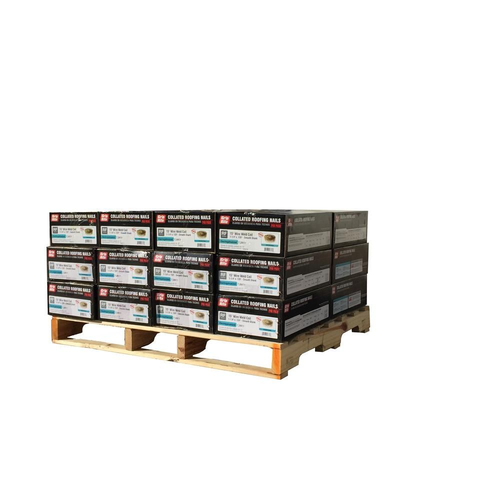 11/4 in. x 0.120 in. 15 Electro Galvanized Coil Roofing