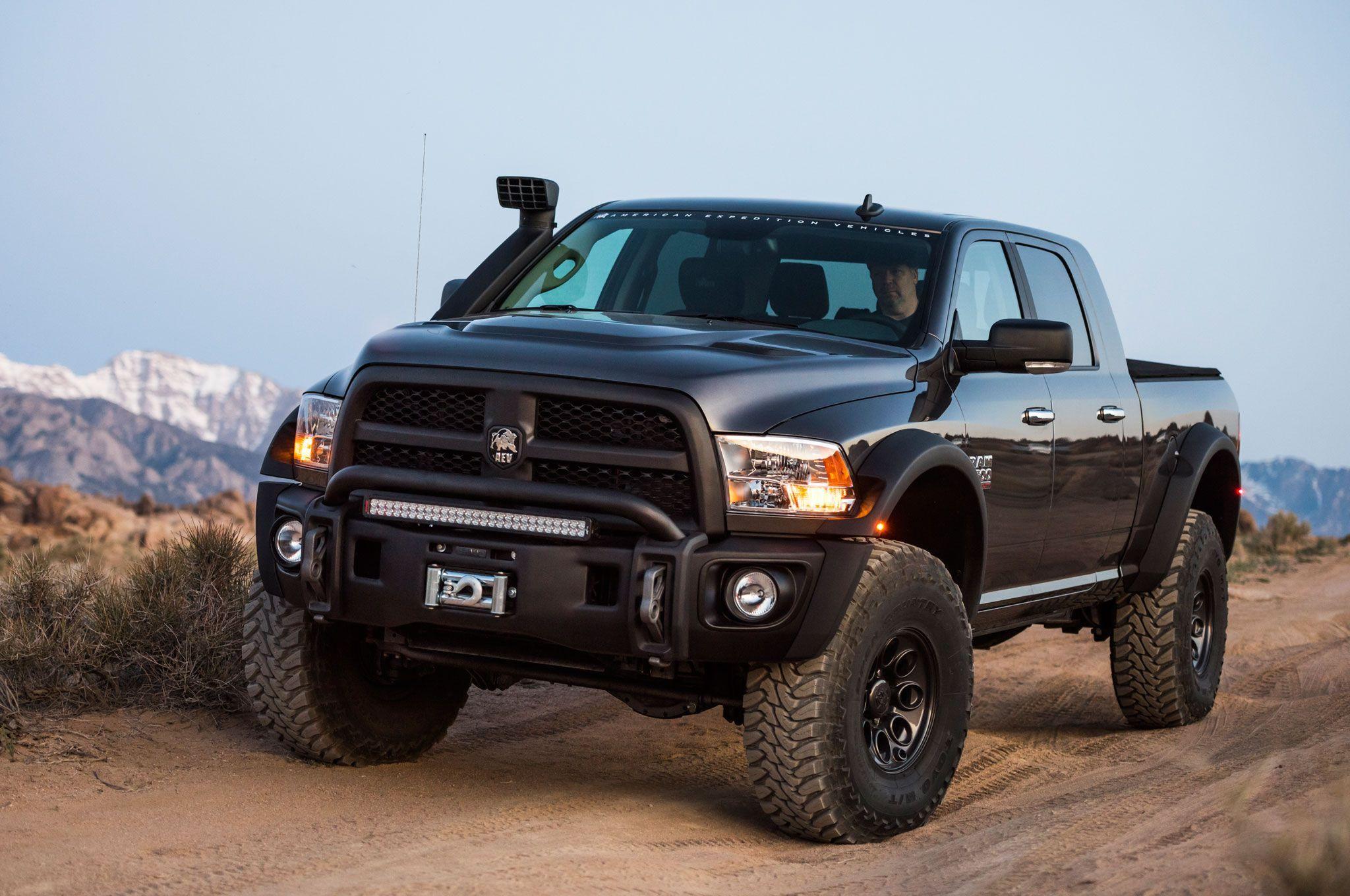 2017 Dodge Trucks >> 2017 Dodge Ram Aev Prospector Xl Concept Ram Power Wagon