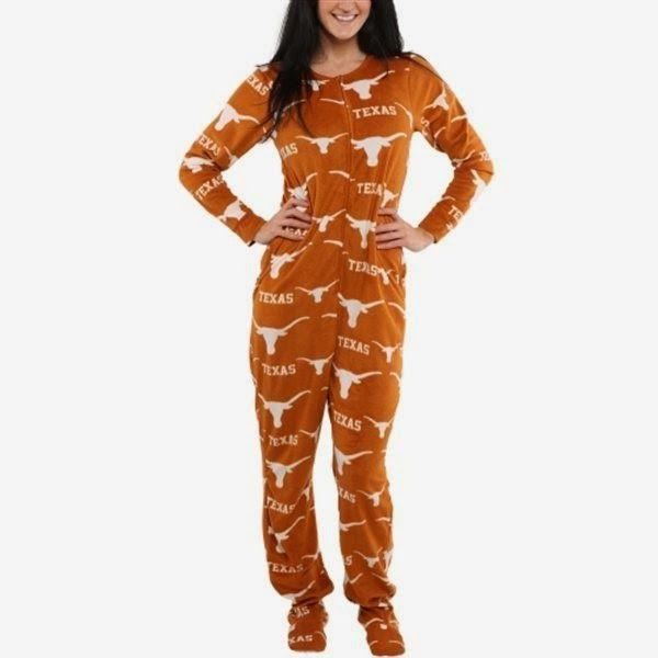 efd1a4c02 #Onesie #pajama for #Texas #Longhorns fans. #onesies #sleepwear #pjs  #sportsfans #college #ncaa www.thestyleref.com