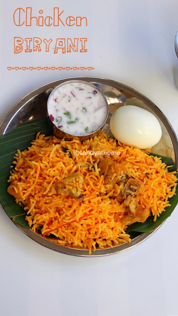 Chicken Biryani Easy Chicken Biryani Recipe Sandhya S Recipes
