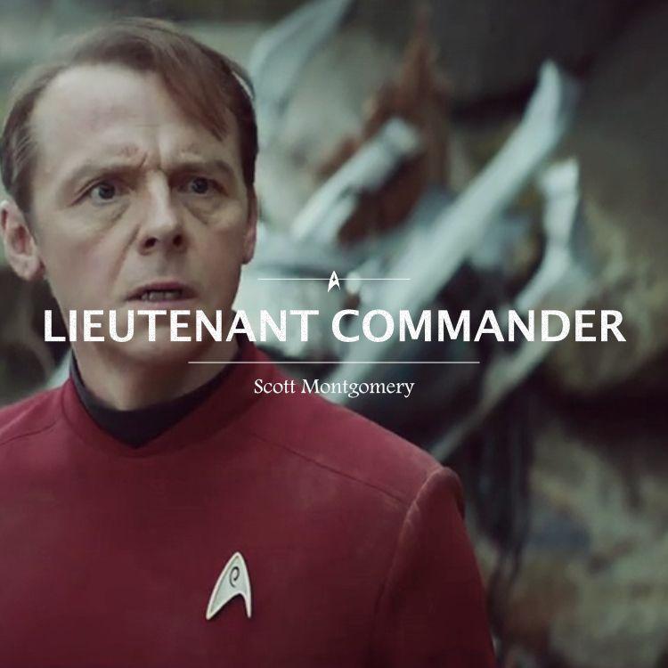 Star Trek Beyond ~ Scotty