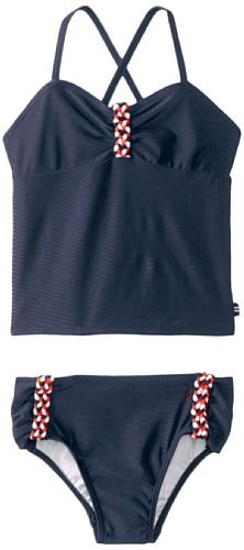 Nautica Little Girls'  Tankini with B... for only $3.99