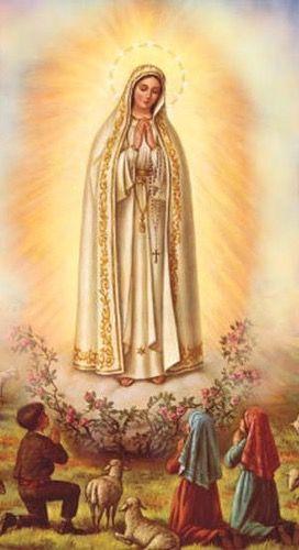 Nuestra Senora De Fatima Santisima Virgen Maria Virgen Maria