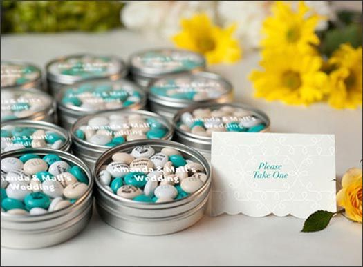Wedding Favors And Gifts Edible Personalized Bridal Shower