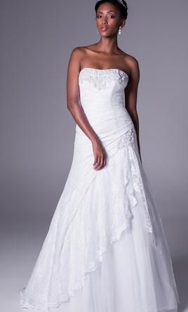 David's Bridal YP3344 10: buy this dress for a fraction of the salon price on PreOwnedWeddingDresses.com