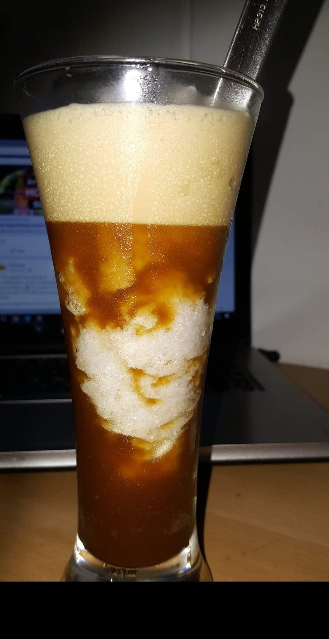 Iced coffee okay guys heres the recipe hazelnut