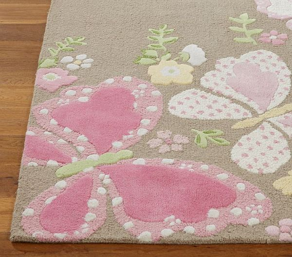 Color your kid\'s childhood with the Camille Rug | Girls rugs ...