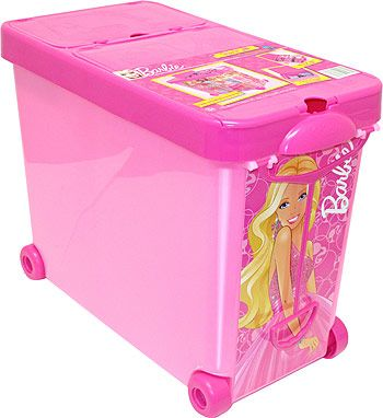 Wow A Durable Storage Case Designed To Fit In Your Closet Or Roll The House With Our Barbie It All Carrying Lift Handle And Wheel