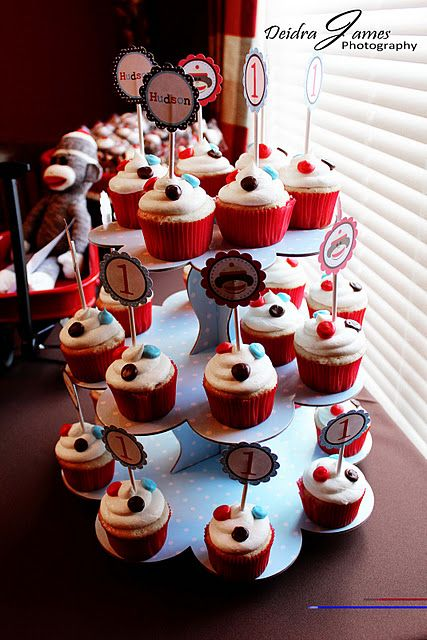 Sock Monkey Cupcake Ideas Sock Monkey Cupcakes Sock Monkeys