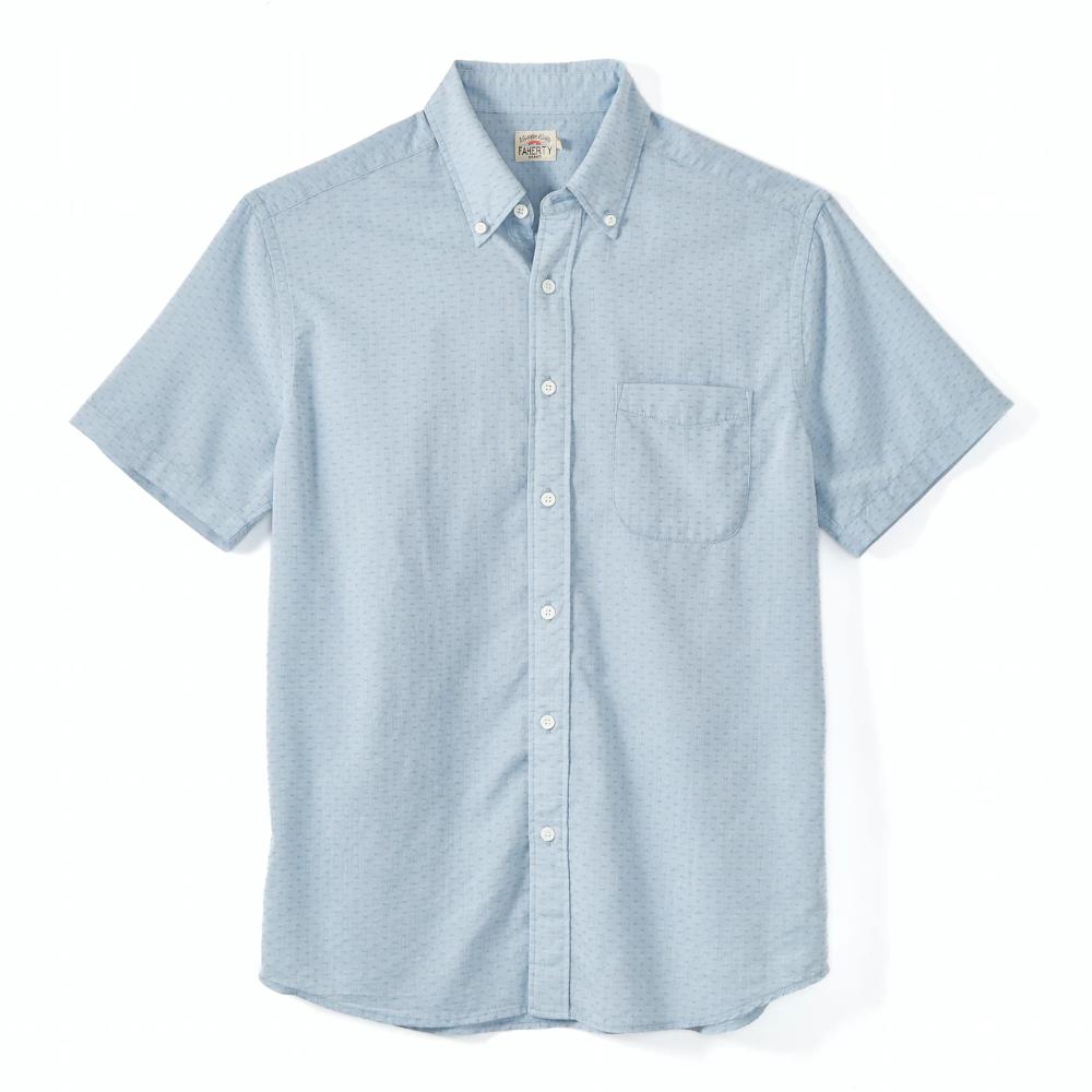 Faherty Brand SS Weaver Shirt | Huckberry