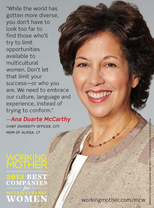 citi part of the working mother 2013 best companies for multicultural women