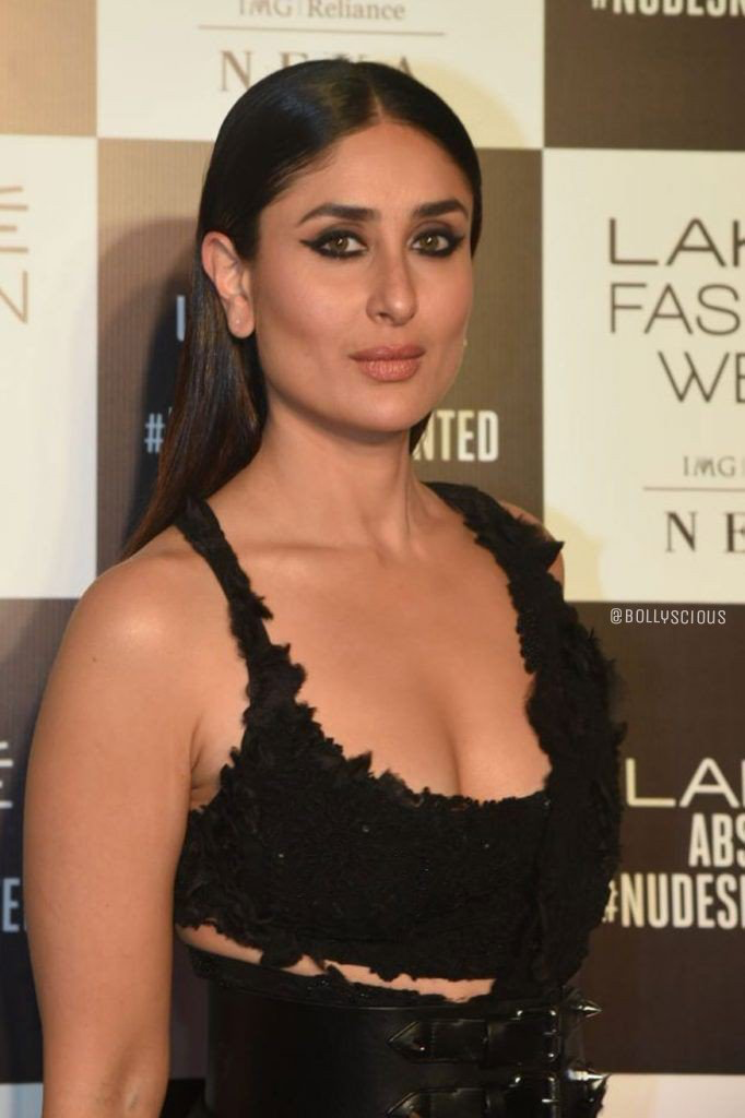 Kareena Kapoor Hot Cleavage Black Dress Kareena Kapoor In 2019
