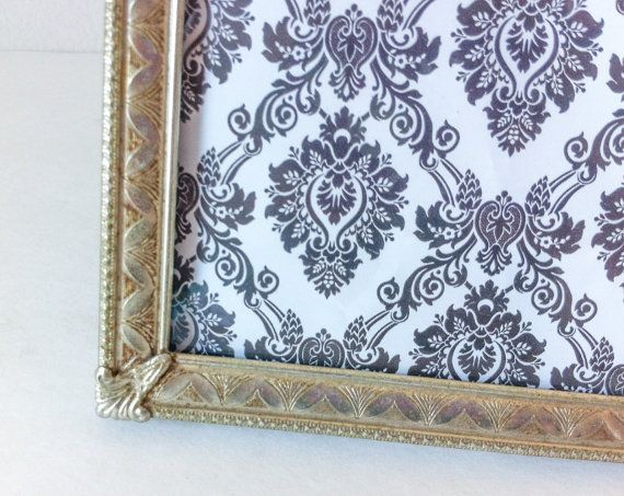 Large Silver Vintage Picture Frame 11x14 Wall Hanging Vintage Picture Frames Silver Picture Frames Frame