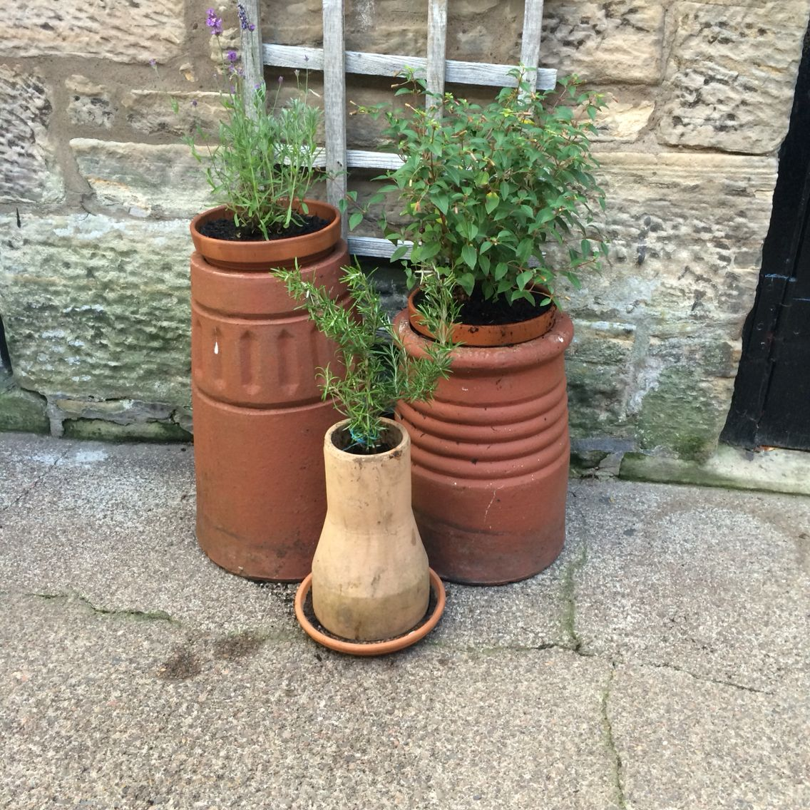 perfect way to use old chimney pots in the garden - Garden Ideas Using Pots