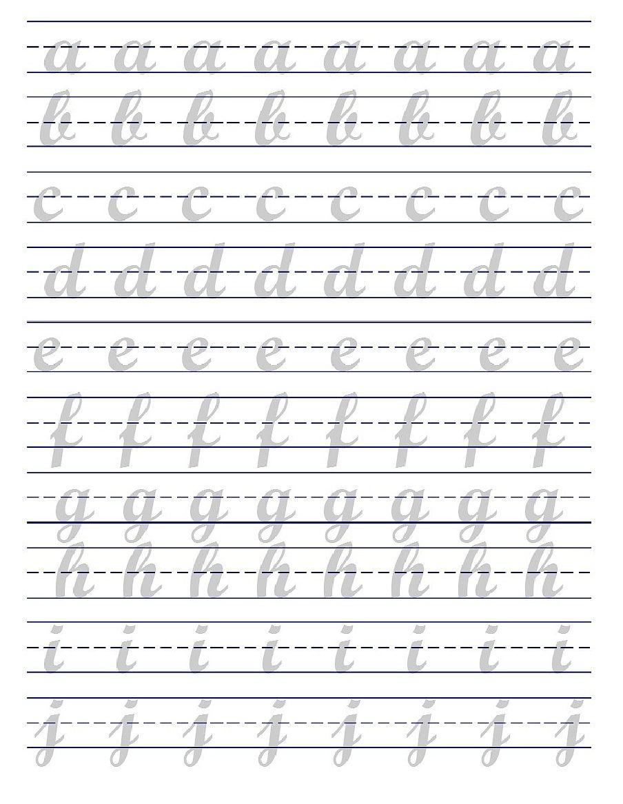 Brush Lettering Practice Sheets Pdf Letras Del Alfabeto Para