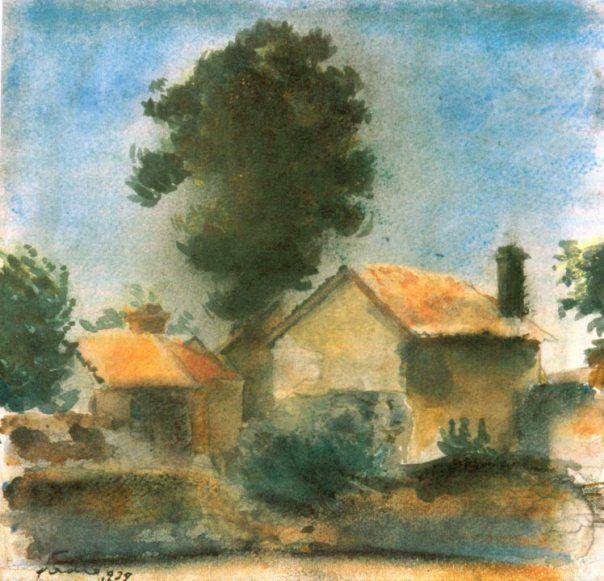 Francisc Şirato - Case şi pom