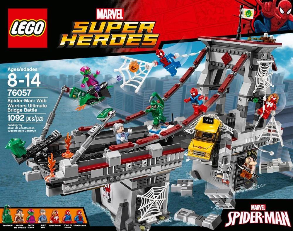 KRAVEN ~ SPIDERMAN Series Lego ~ Marvel Super Heroes ~ MINT~