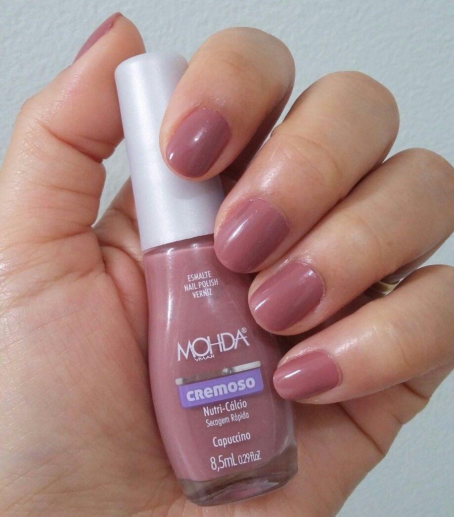 Esmalte Mohda Cappuccino Beleza Nail Polish Nails E Beauty