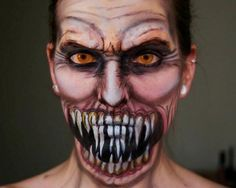 Maquillaje Extremo: mira estas fotos terrorificas
