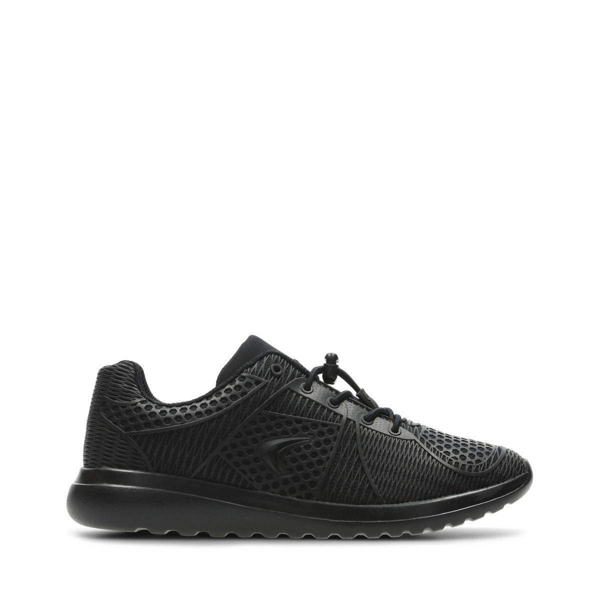 aad071056f8 Clarks Sprint Lane Infant - Kids Sport Shoes Black Multi 11.5 F (Medium)
