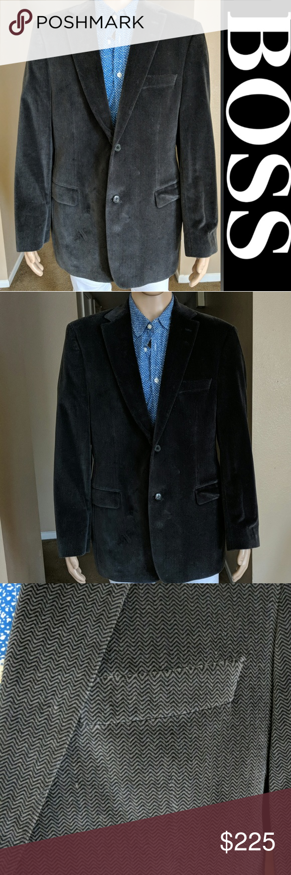 Hugo Boss Sport Jacket Sports Jacket Hugo Boss Suit Clothes Design [ 1740 x 580 Pixel ]