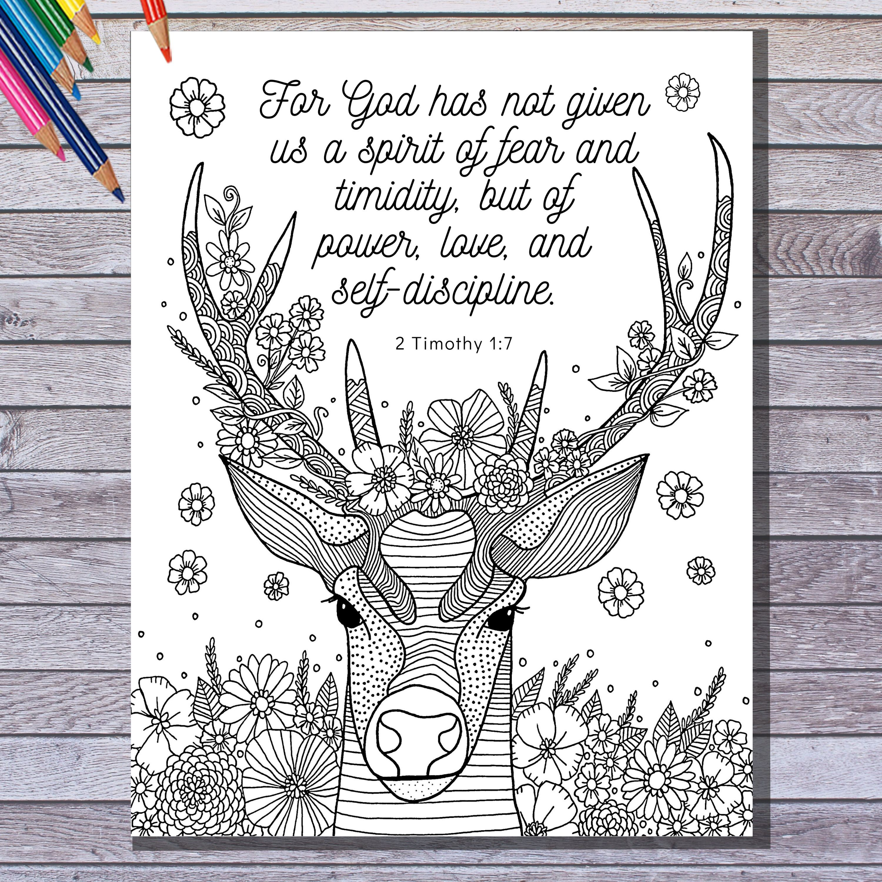 Printable Bible Verse Coloring Page Instant Download 2 Etsy Bible Verse Coloring Page Bible Verse Coloring Coloring Pages