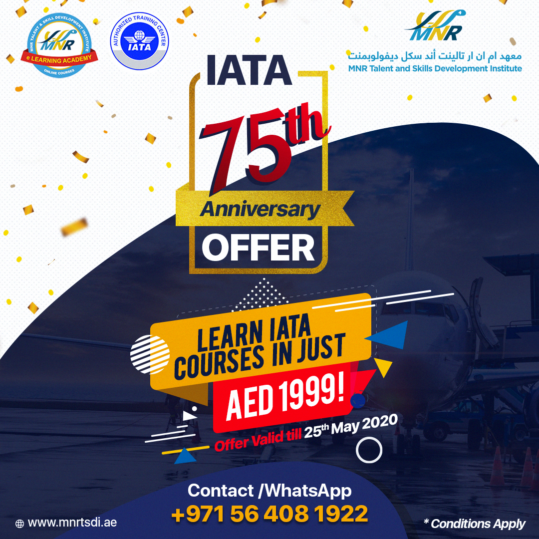 Learn IATA Courses MNR in 2020 Travel and tourism