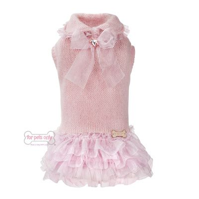 FOR PETS ONLY-BALLERINA PINK DRESS