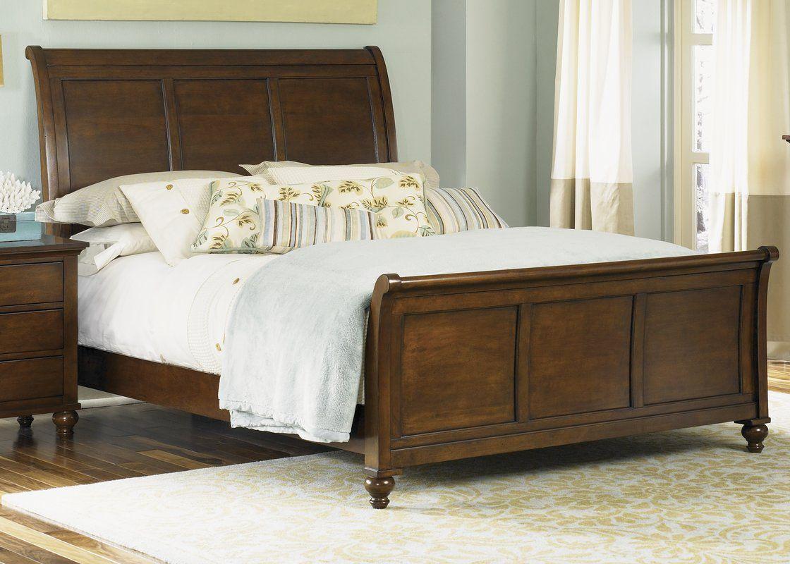 Garrick garrick sleigh bed for the home in pinterest