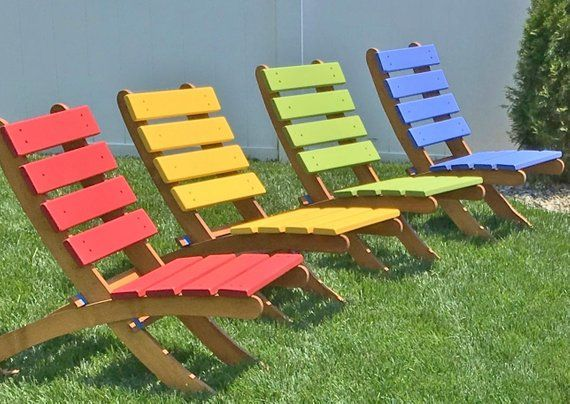 Fabulous Two Color Classic Cedar Garden Chairs Deck Chairs Choose 2 Caraccident5 Cool Chair Designs And Ideas Caraccident5Info