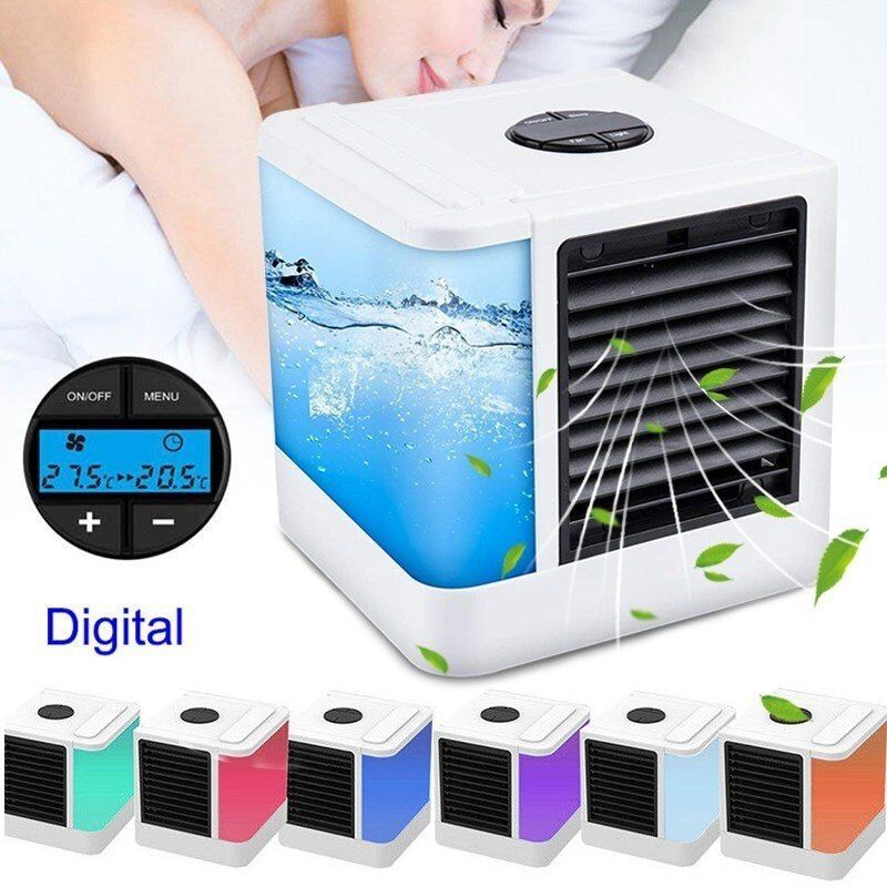 Zuczug Mini Usb Portable Air Conditioner Cooling Fan Air Mini
