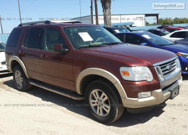 2010 Ford Explorer On Online Auction By June 10 2016 2010 Ford