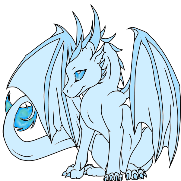 Anime dragon