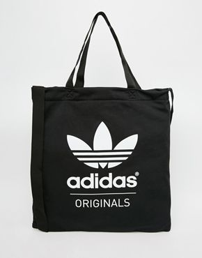 e6fa96ab65d adidas Originals Shopper in Black
