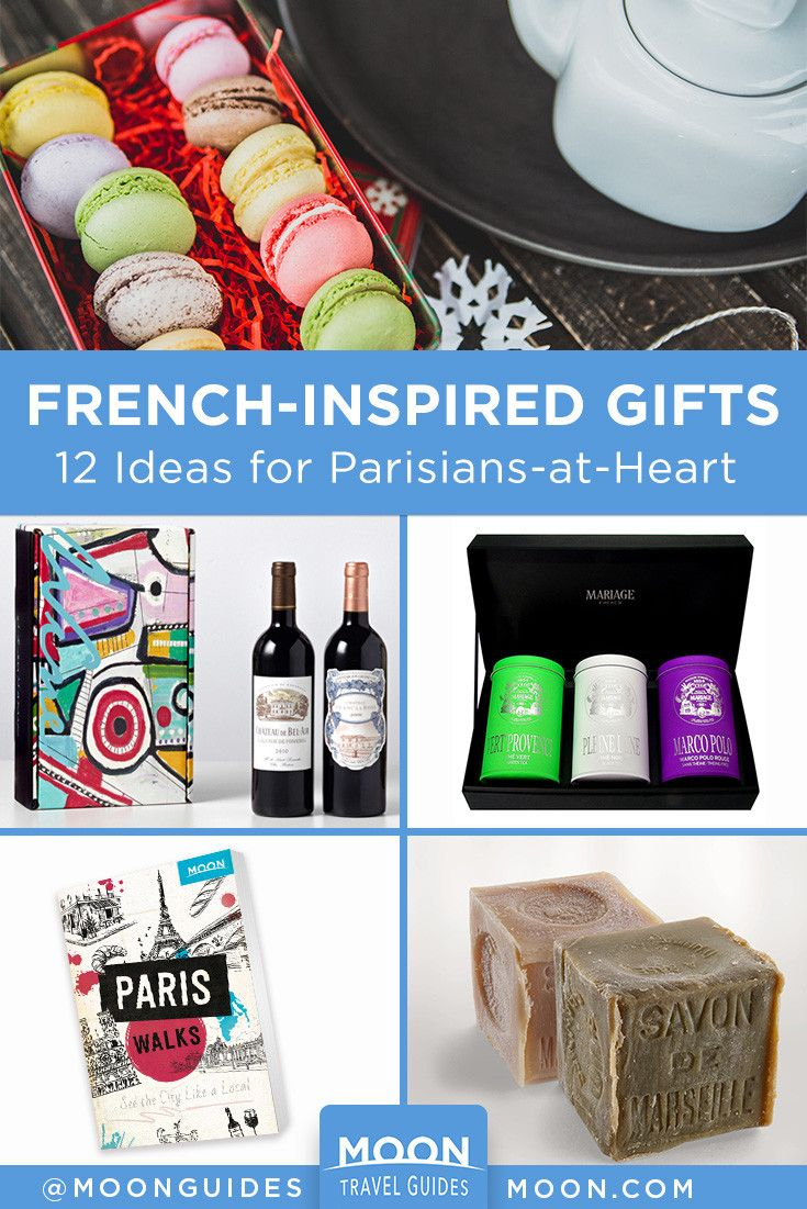 12 FrenchInspired Gifts Themed gift baskets, Theme
