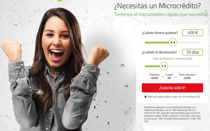 Necesitas Un Microcrédito Incoming Call Screenshot