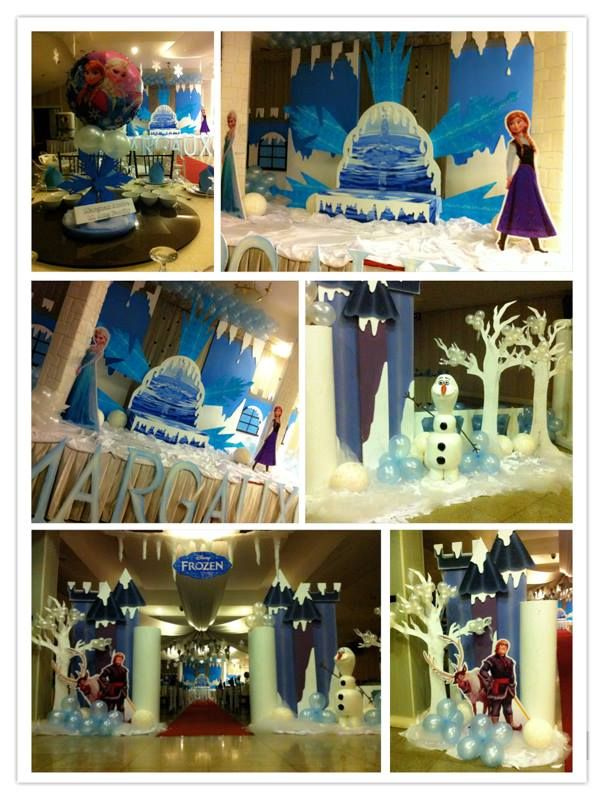 party ideas for a frozen birthday