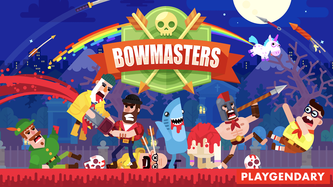 Bowmasters is the multiplayer game you've been looking for