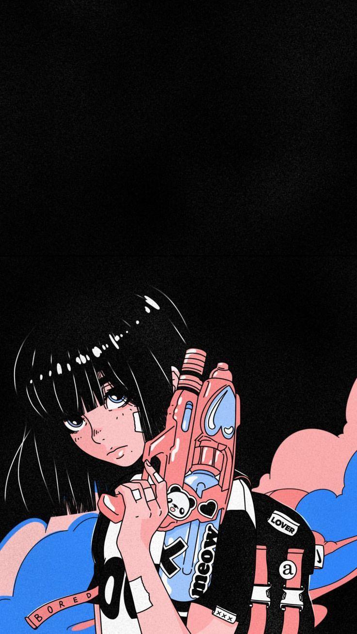 Pin By Minwoo On Fond Ecran Art Wallpaper Anime Art Anime Wallpaper Iphone