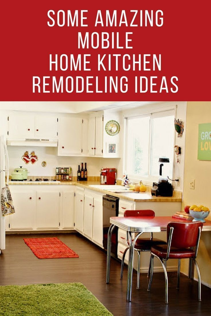 Awesome, But Affordable, Mobile Home Kitchen Remodeling ...