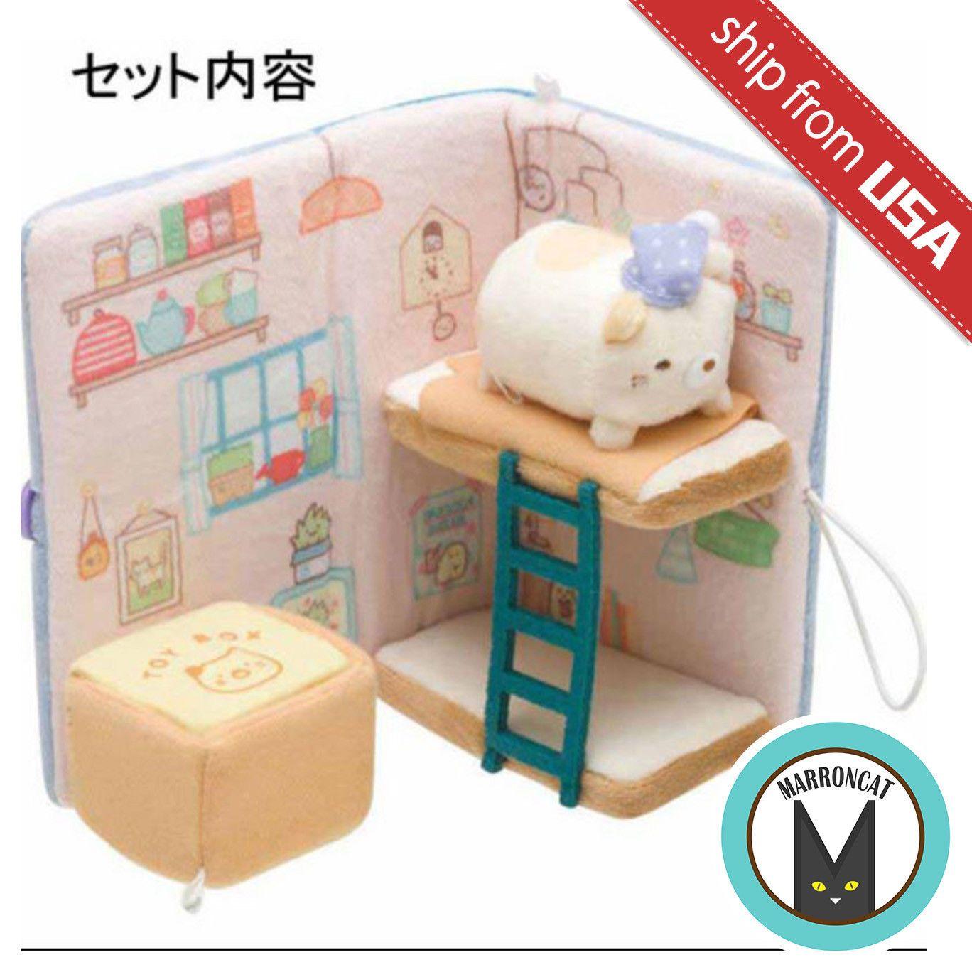 Sumikko Gurashi Scene Plush Doll Bathroom San-X Japan