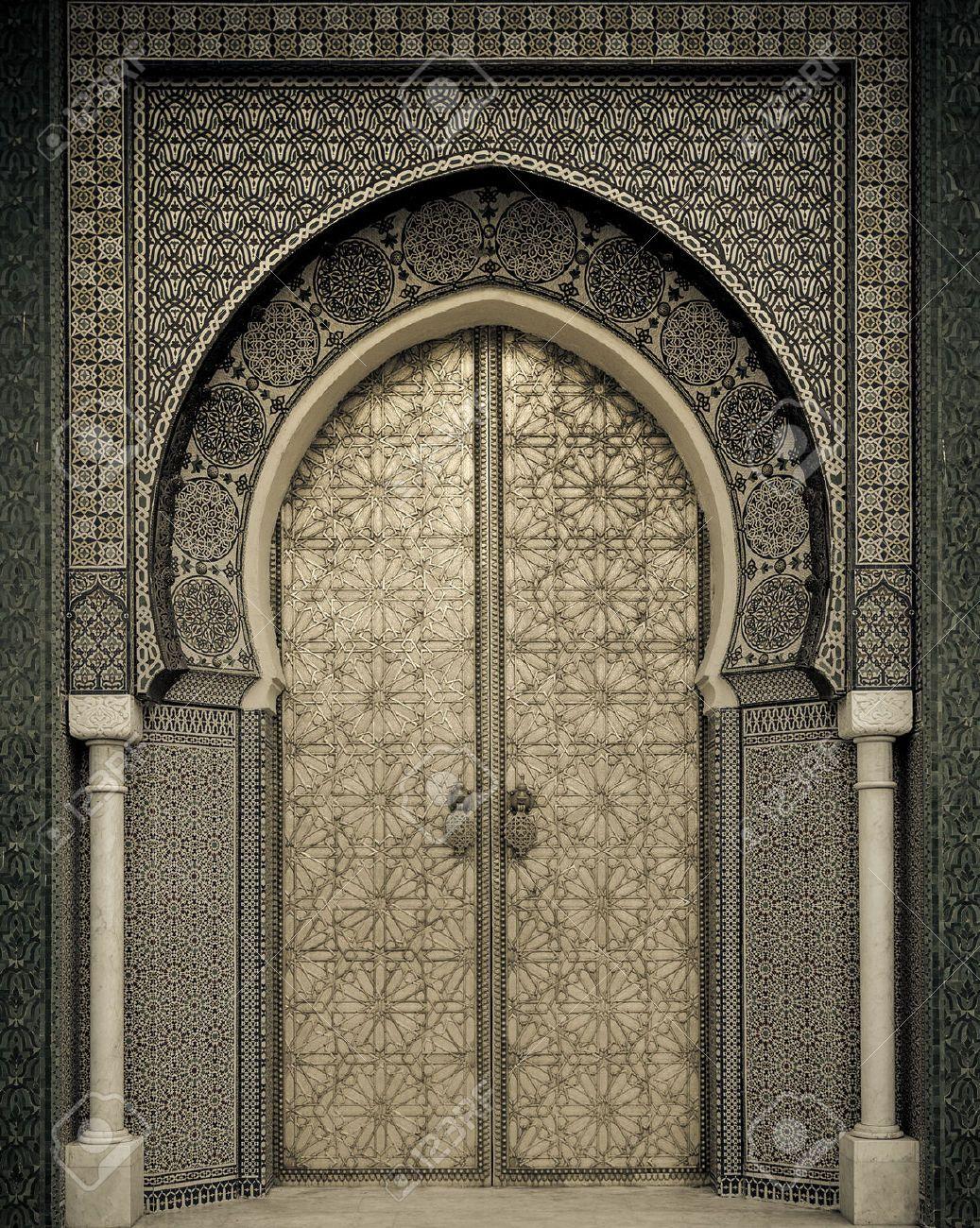 22639786-Ancient-doors-Morocco-Stock-Photo-islamic-morocco- & 22639786-Ancient-doors-Morocco-Stock-Photo-islamic-morocco-door ...