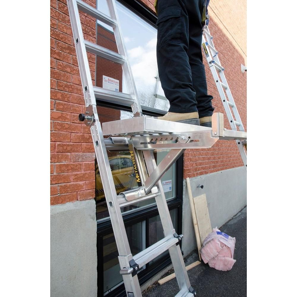 MetalTech 2Rung Ladder JacksELJ20P Ladder, Roofing