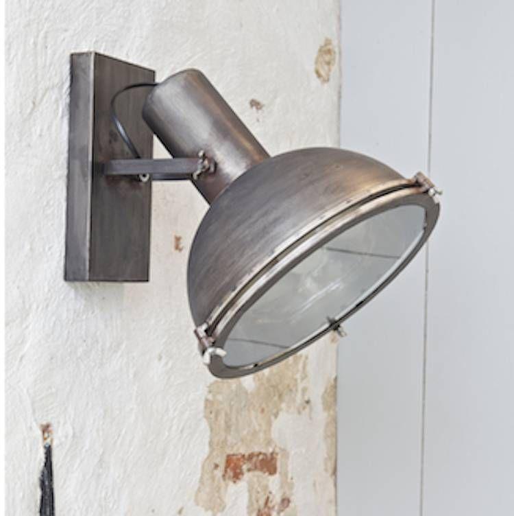Be Pure Home Wandlamp Spotlight - Stoere industriële wandlamp ...