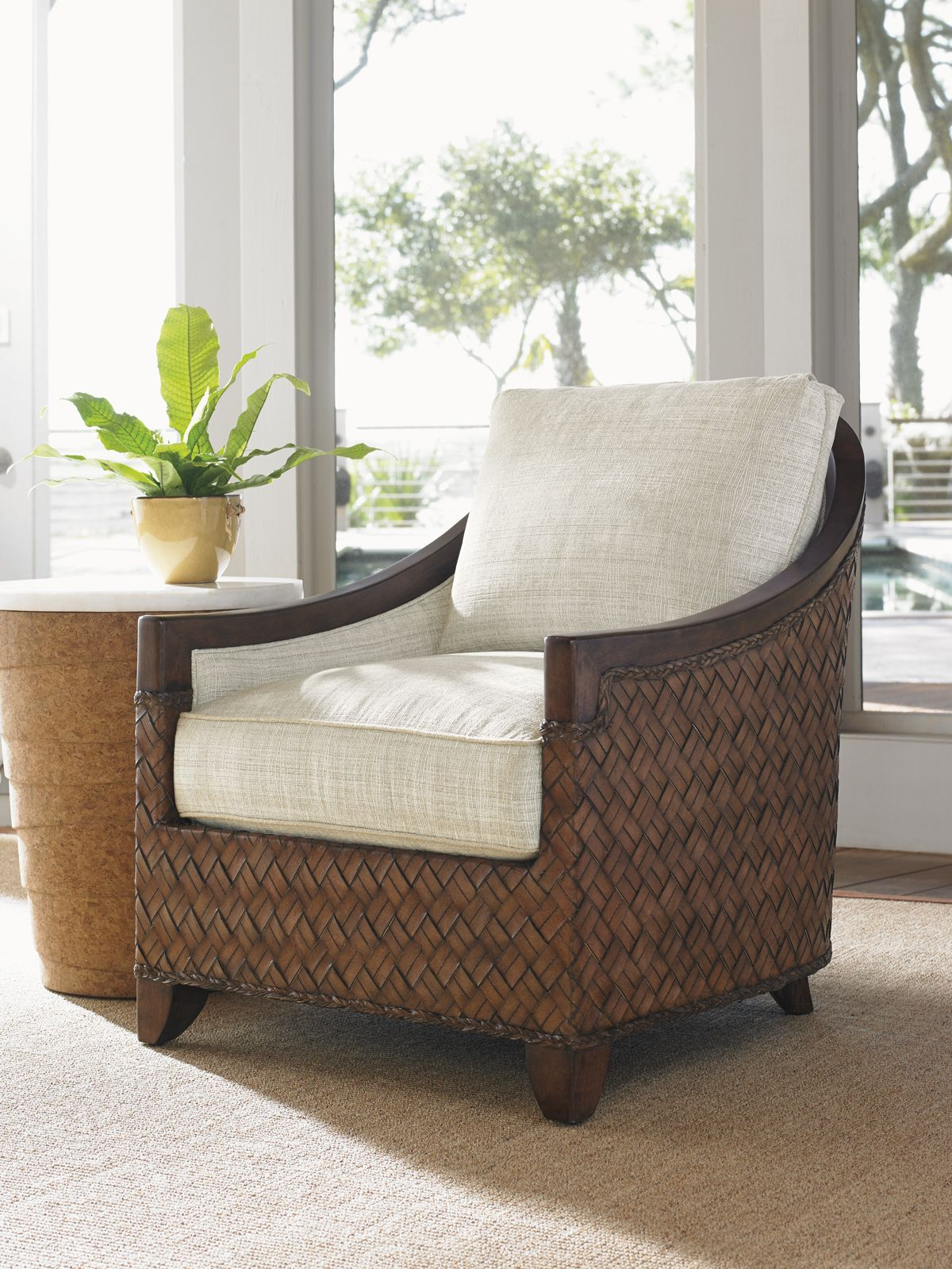 Coastal Accent Chair from Tommy Bahama Home.