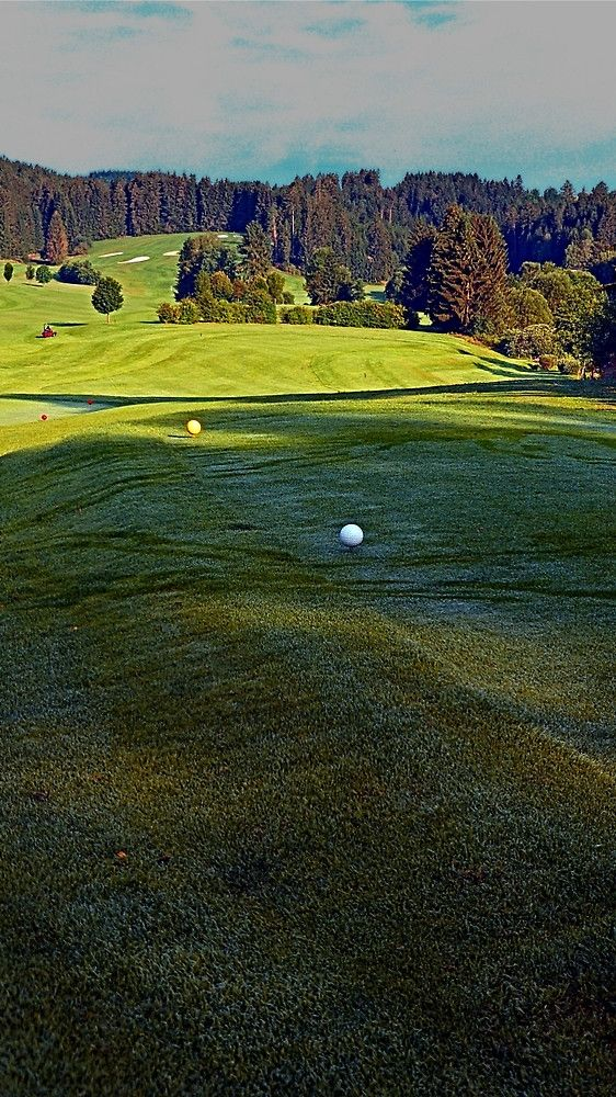 Summer morning at the golf club 3 | landscape photography. Oberneukirchen, Austria / Österreich