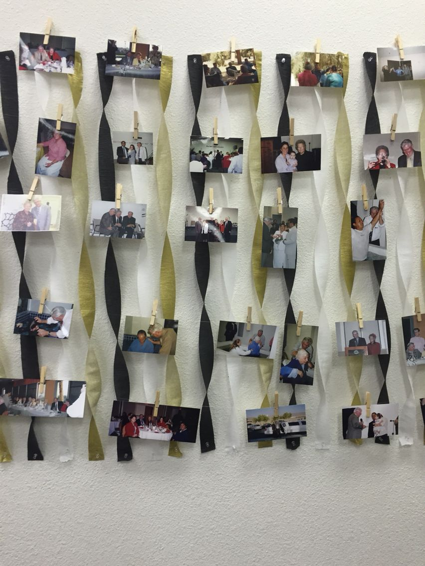Memory Lane Picture Display Birthday Party In 2019 Party Pictures Birthday Ideas For Her
